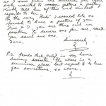 Ty Cobb Letter to Babe Ruth - Part 2