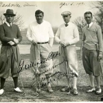 Babe Ruth Golfing With Friends