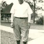 Babe Ruth in Golf Attire