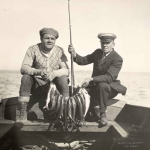 Babe Ruth Fishing