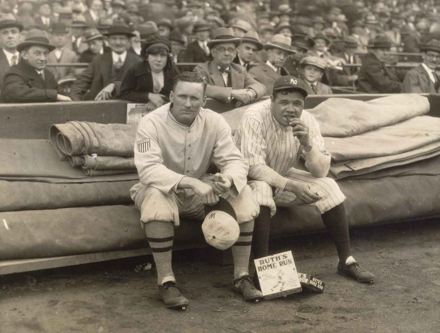 Babe Ruth With Other Players- Babe Ruth Central: Babe Ruth, Babe Ruth ...