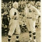 Babe Ruth in Movie Scene