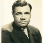 Babe Ruth Headshot