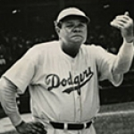Babe Ruth as a Dodgers Pitching Coach