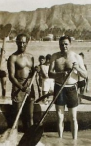 Babe Ruth with Duke Kahanamoku.  Credit JanesOceania.com