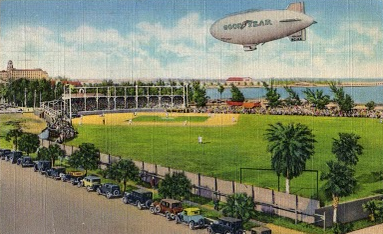Waterfront Park - Babe in Right Field - Circa 1927