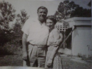 Babe Ruth and Virginia Sherlock