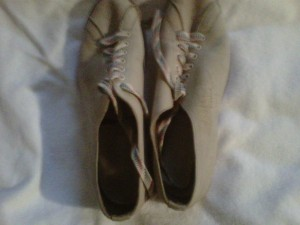 Babe Ruth-signed Bowling Shoes