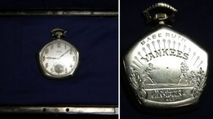 Babe Ruth's 1923 World Series Pocket Watch