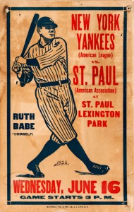 Babe Ruth Poster 1926