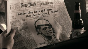 Babe Ruth in Budweiser Ad