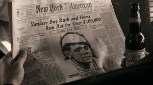 Babe Ruth in Budweiser Ad
