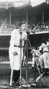 Babe Ruth Farewell Speech