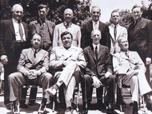 HOF Members at 1939 Grand Opening