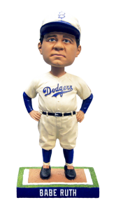 Babe Ruth Dodgers Bobblehead