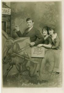 Babe Ruth Donkey