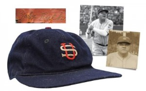 Courtesy of Grey Flannel Auctions: Babe Ruth Japan Cap