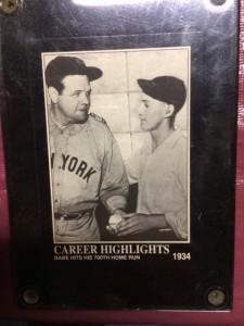 Ruth Bielski Baseball Card