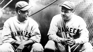 Lou Gehrig and Babe Ruth Batting Cage